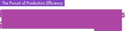 The Pursuit of Production Efficiency , Proprietary Production Facilities in the Pursuit of Efficiency